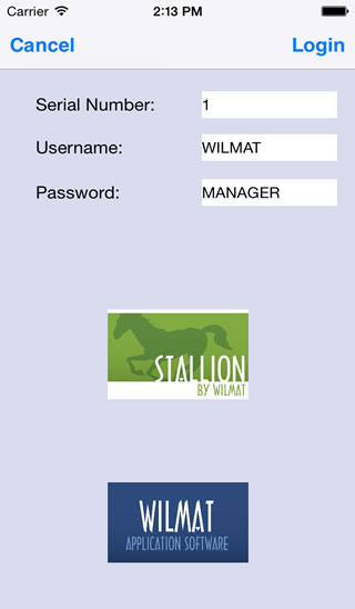 Wilmat Application Software - IPhone Tour
